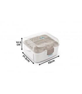 Esterilizador microondas Nuvita