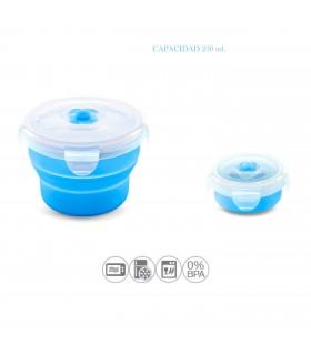 3c. contenedor pleg silicona 230 ml