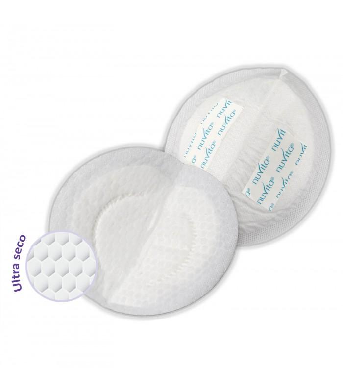 Discos absorbentes lactancia - 60u. Nuvita
